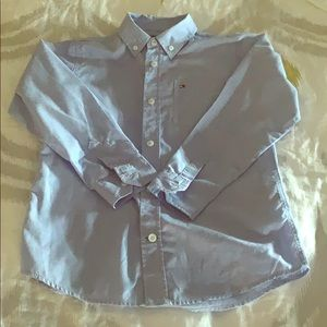 Tommy boys size 7 button up shirt